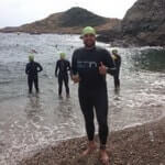 Opiniones alumno natacion aguas abiertas Jorge Guzman Barcelona Sitges Costa Brava natacio mar triatlon ironman swimrun Roger