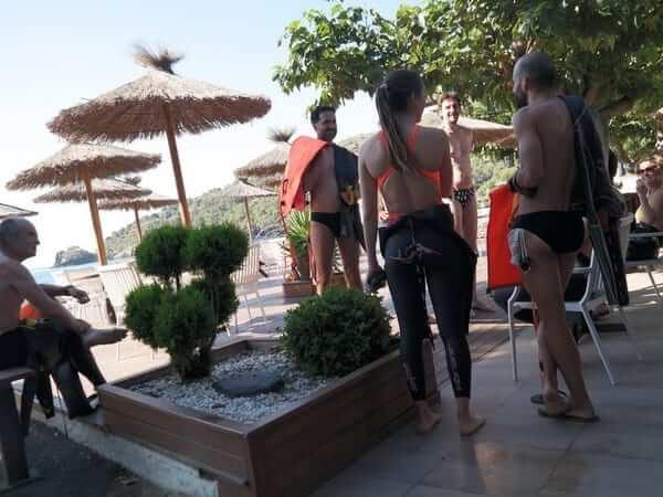 Stage Terra i Mar 01 - Jorge Guzmán Natación Aguas Abiertas en el mar para adultos