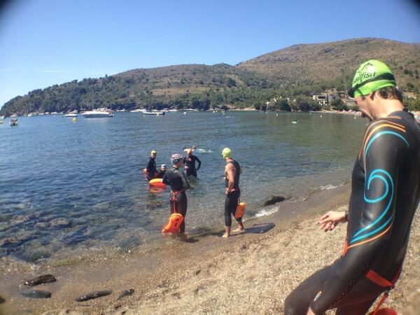 Stage Terra i Mar 03 - Jorge Guzmán Natación Aguas Abiertas en el mar para adultos