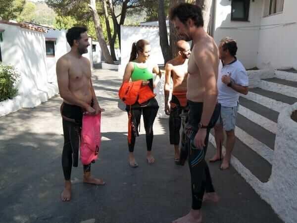 Stage Terra i Mar 14 - Jorge Guzmán Natación Aguas Abiertas en el mar para adultos