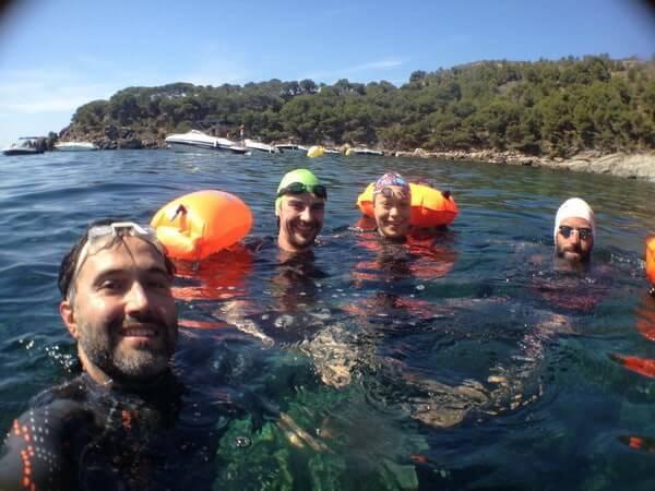 Stage Terra i Mar 16 - Jorge Guzmán Natación Aguas Abiertas en el mar para adultos