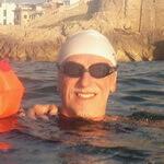 Francesc alumno natación Jorge Guzmán entrenador natación en aguas abiertas adultos barcelona sitges